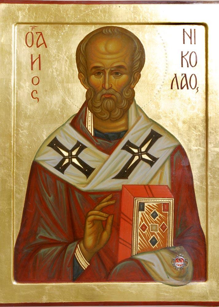 икона святителя николая: